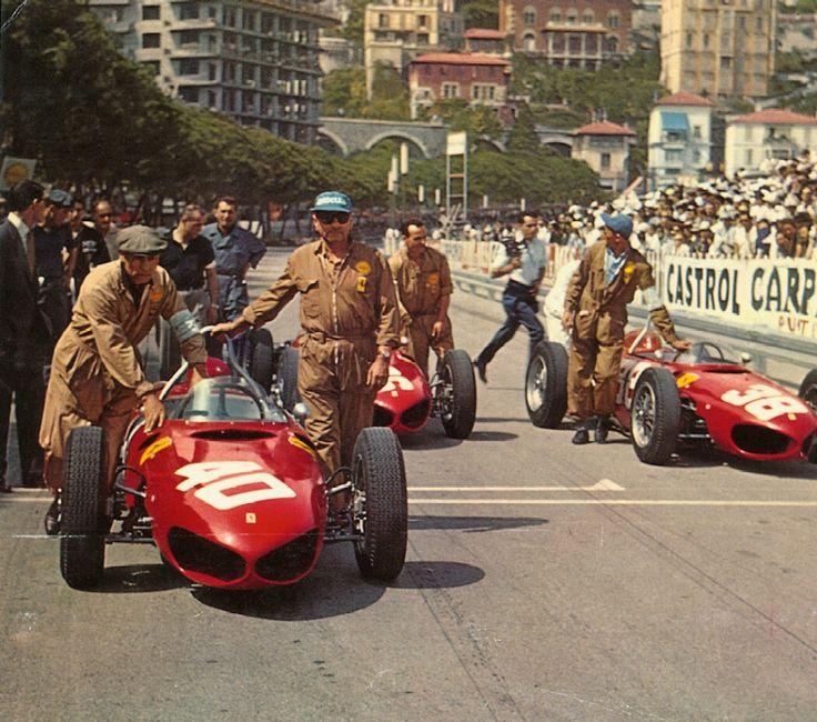 1962 Monaco Grand Prix - Ferrari 156 Sharknose