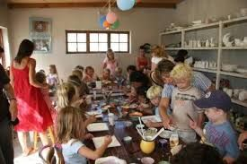 Creative kids will have an absolute blast at the Clay Café in Hout Bay, which lets the young and old paint masterpieces on unfired bisques and take home personal and unique crockery.