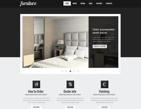 Furniture Websites Design Designer Interior Design Website Interior Design Website Templates Home Design Websites