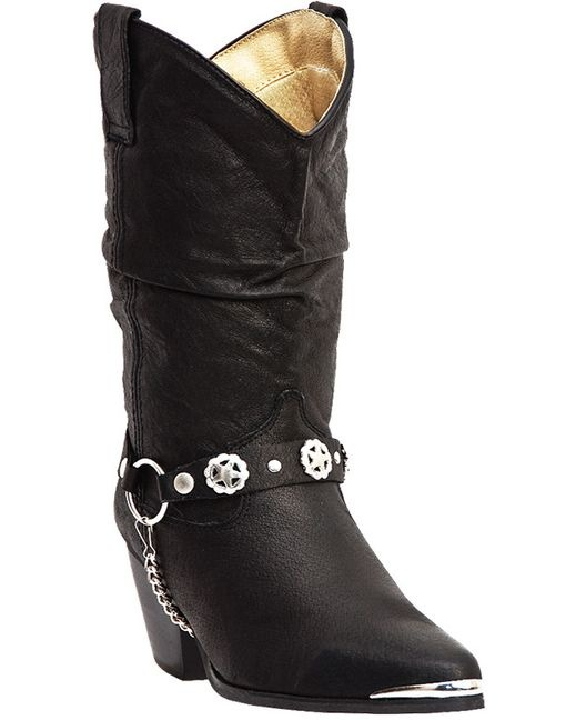 I want a pair of black Dingo boots for my birthday. I just can't decide which ones. Women's Bailey Boot: $83.95 from Country Outfitters.