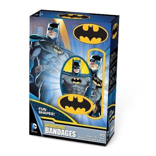 Batman Adhesive Bandages #affiliate #batman