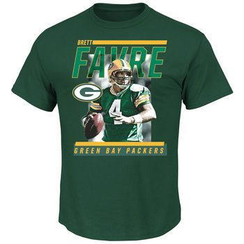 Green Bay Packers Favre Stats T-Shirt at the Packers Pro Shop http://www.packersproshop.com/sku/9196023100/