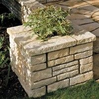 Bradstone Old Town Walling Weathered Limestone coping stones 460L x 195W x 45H 44 Per Pack