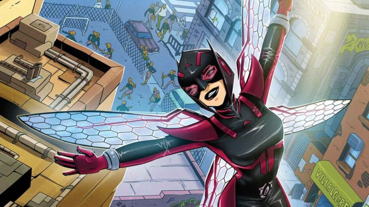 Nadia Pym is Marvel's latest attempt to make its comic-book universe resemble its cinematic universe, and while she's not exactly the same character as Ant-Man's Hope Pym, she fills the same role as Henry Pym's daughter that takes on the Wasp mantle. (In Slavic, Nadia means hope.) Nadia takes the s