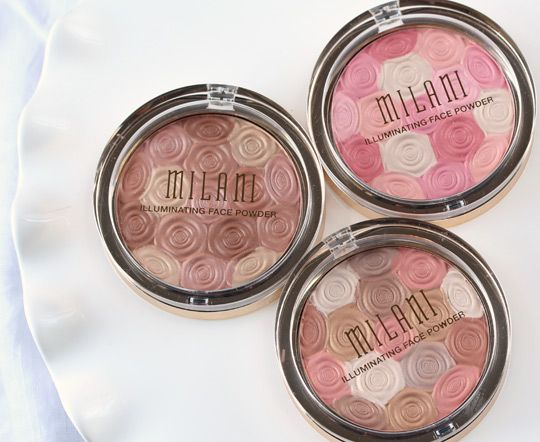 milan illuminating face powders.  For when i run out of blush... in 5 years.