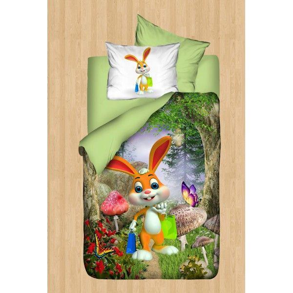 Cute Rabbit Bebek Nevresim Takımı