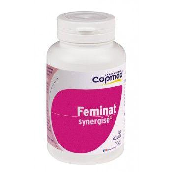 Feminat synergisé® Complément alimentaire à base d'acides gras essentiels et vitamines.  Spécifiquement conçu pour accompagner la femme tout au long des étapes clés de sa vie : désir d'enfant, grossesse, allaitement, périménopause et ménopause.