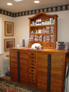 Old Printers' Cabinets