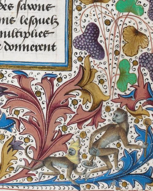 British Library, Royal 15 E IV, detail of f. 192r. Jean de Wavrin, Anciennes et nouvelles chroniques d'Angleterre, volume 1. Bruges, after 1471 and before 1483.