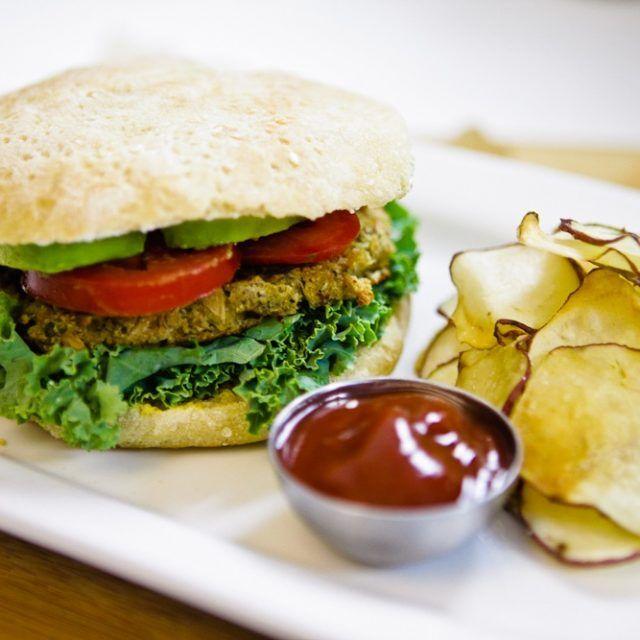 Savory Sage & Flower Burger