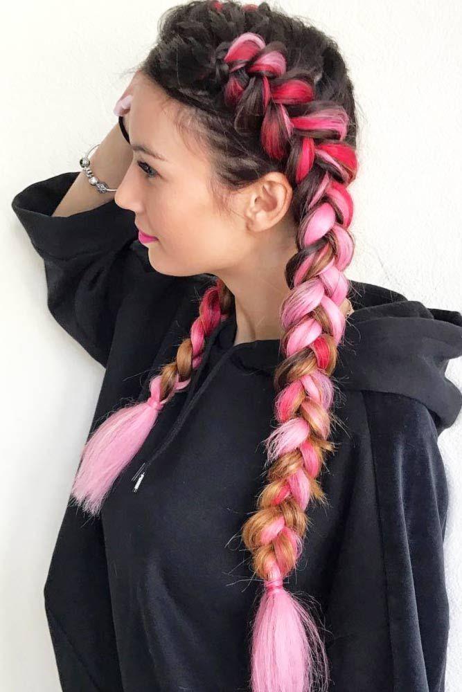 Stylish Kanekalon Braiding Hair Ideas See More Http Lovehairstyles Com Kanekalon Braiding Hair Kanekalon Braiding Hair Hair Styles Kanekalon Hairstyles