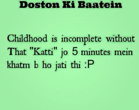 Original Childhood Memories Quotes In Hindi