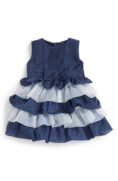 Dorissa Tiered Organza Party Dress (Baby Girls)