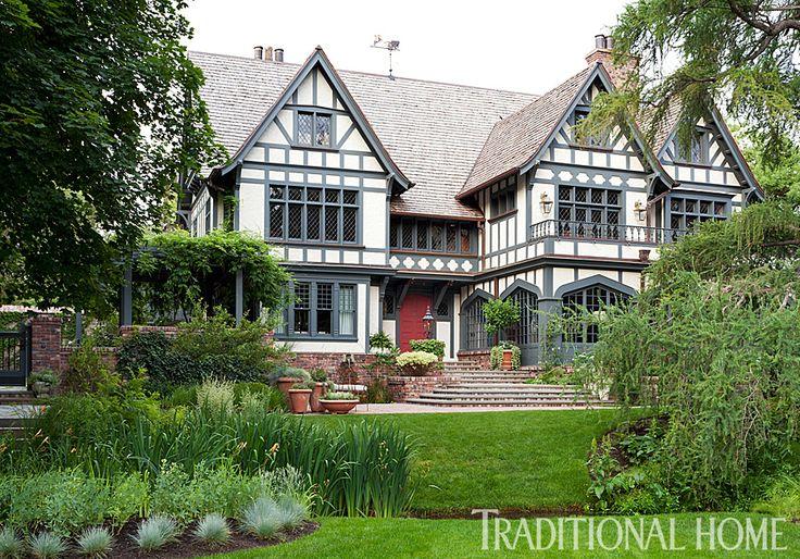 Die besten 25 tudor house ideen auf pinterest tudorhaus for Ideales fachwerk