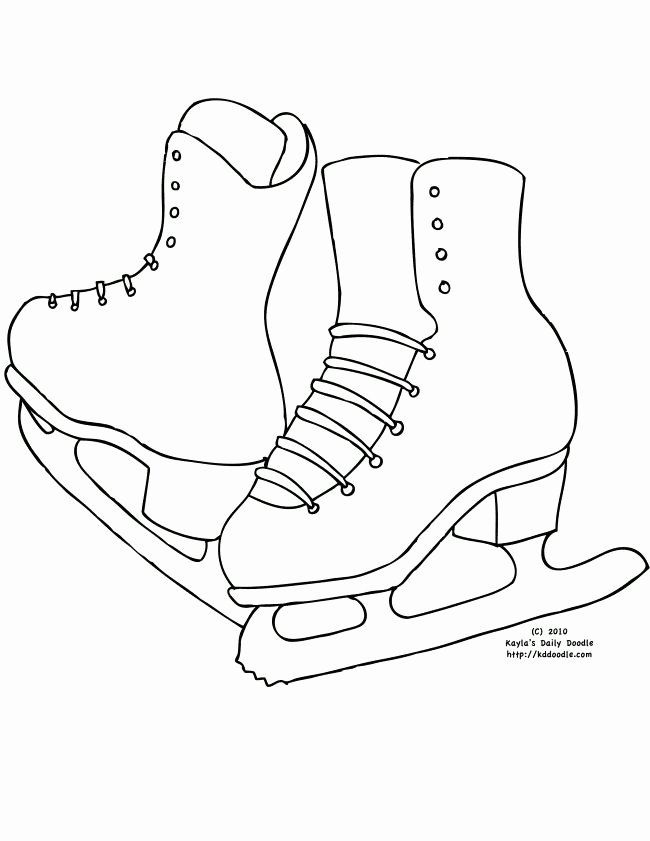 Ice Skate Coloring Page Best Of 15 Best Skating Crafts Images On