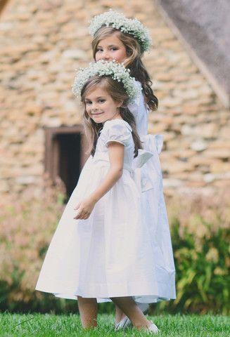 Dupioni Flower Girl Dress