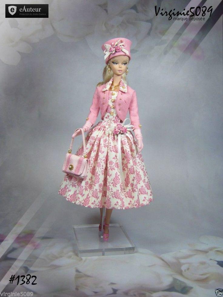 Tenue Outfit Accessoires Pour Fashion Royalty Barbie Silkstone Vintage 1382   eBay