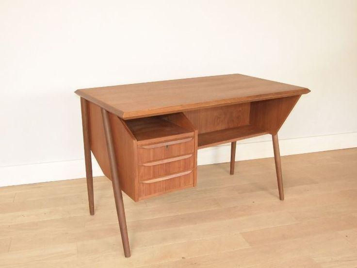 Plus de 1000 id es propos de vintage se meubler for Mobilier bureau scandinave
