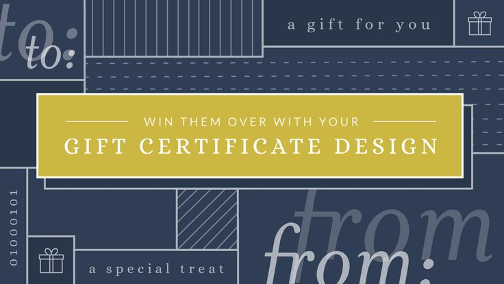 Not only are gift certificates are an effective way of spreading influence, they're pretty easy and cheap to produce too.