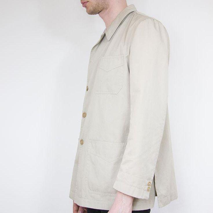 Kort herrtrenchcoat, vintage. på Tradera.com - Herrjackor och