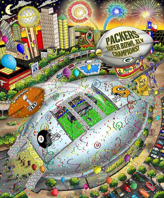 Super Bowl XLV: Dallas   Green Bay Packers