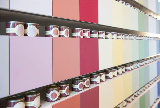 Farrow & Ball paints are born and bred in Dorset, England. They have resided theresince John Farrow, and fellow paint pioneer, Richard Ball first founded the company in 1946. Their passion for making paint to original formulations, using only the finest ingredients and age-old methods, is matched by theircraftsmen today.
