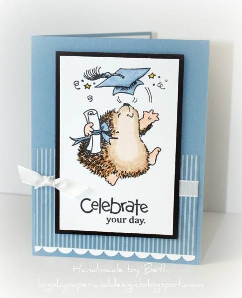 penny black graduation - Homemade Cards, Rubber Stamp Art, & Paper Crafts - Splitcoaststampers.com