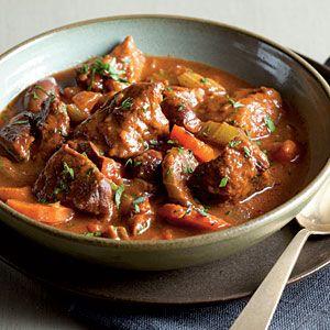 Comfort Food Dinner Recipes   Italian Beef Stew   CookingLight.com