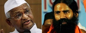 Won't tour with Baba Ramdev says #AnnaHazare : Zeenews Bureau     New Delhi: Following unease within Team Anna over his planned joint rally with Baba Ramdev in New Delhi on June 3, Anna Hazare on Monday said he would not tour the country with the yoga guru.