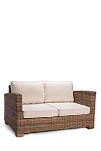 KUBU 2 SEATER COUCH