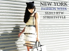 Street style: NY Fashion Week SS2013 RTW. Люди и знаменитости на показах (детали) весна-лето 2013 на неделе моды в Нью-Йорке.