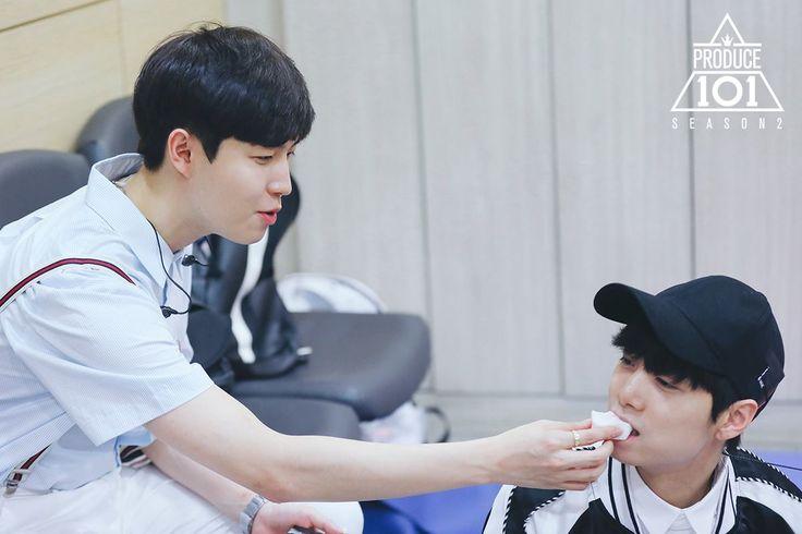 produce 101 season 2 kim jaehwan kim jonghyun
