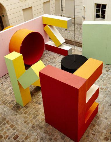 Faye Toogood - kenzo installation