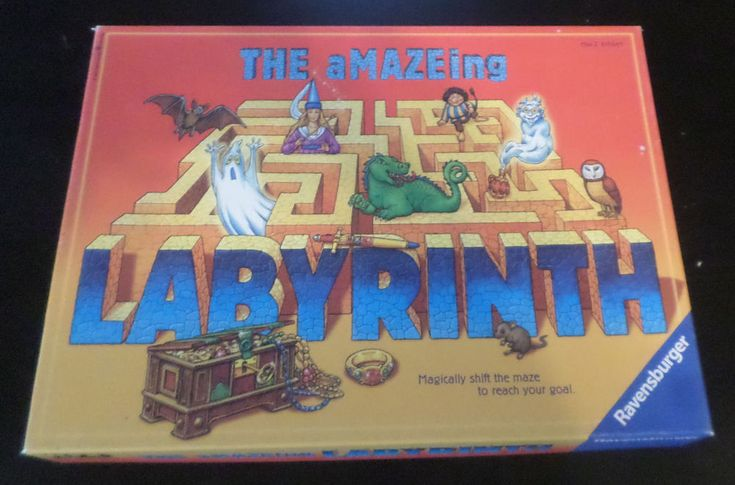 The Amazing a MAZE ing Labyrinth by Ravensburger 1987   100% Complete #Ravensburger