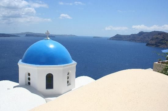 Santorini,  I want to go there #1 on my bucket list, so beautiful.