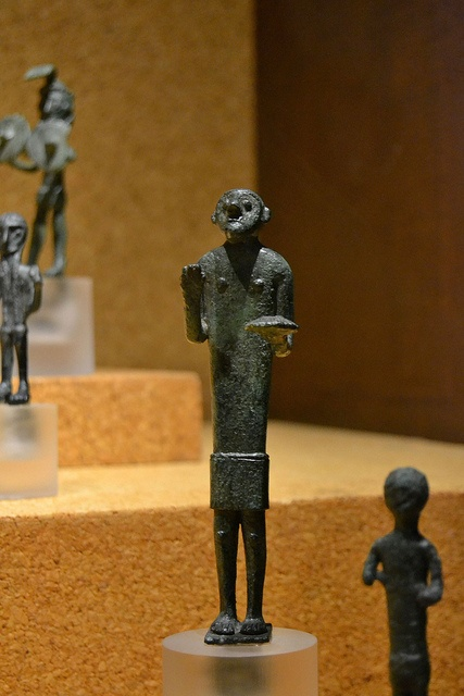 Nuragic votive figurine - Offerer Bronzes of the Nuragic age National Archeological Museum - Cagliari