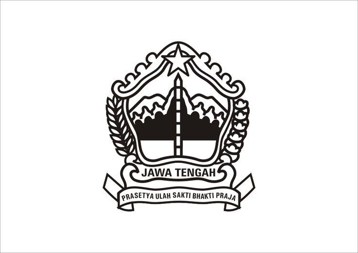 Logo Jawa Tengah hitam putih Vector cdr dan Ai