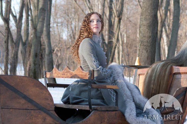 Medieval wool  noble coat