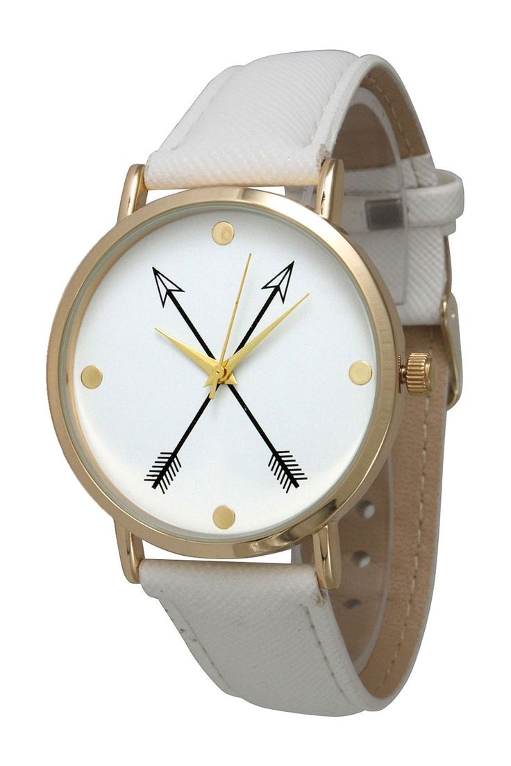 Cute, arrows watch.