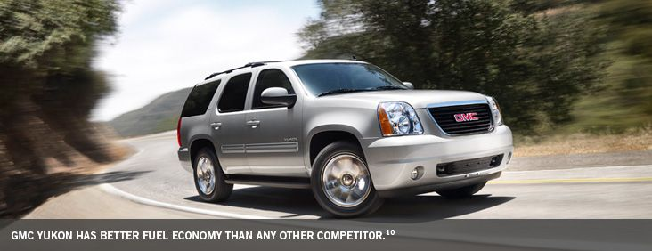 2014 GMC Yukon SUV Has Better Fuel Economy Than Any Other Competitor