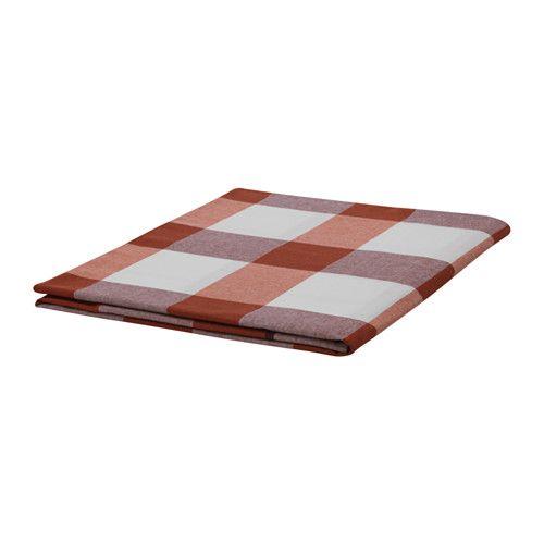 RUTIG Duk IKEA Bordduken beskytter bordet og gir en dekorativ borddekking med stemning.
