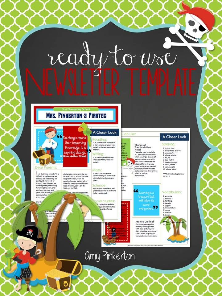The  Best Class Newsletter Ideas On   Parent