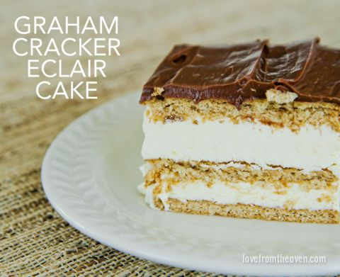 No Bake Chocolate Eclair Cake Uk