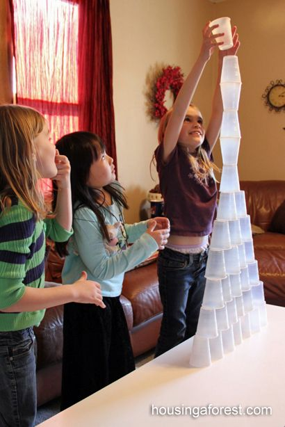 Good For A Rainy Or Lazy Afternoon Activity OR As A Team Party Challenge