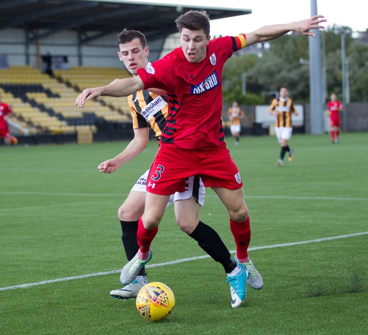 Queen's Park's Sean Burns in action during the SPFL League One game between East Fife and Queen's Park.