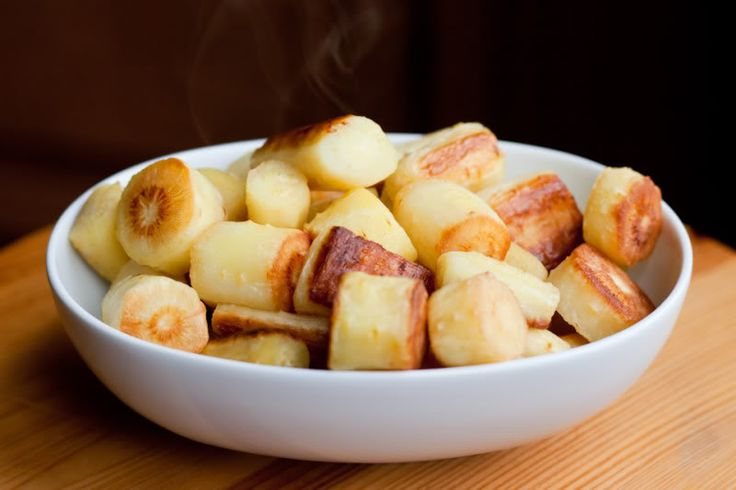 Oven Roasted Parsnips | The Domestic Man