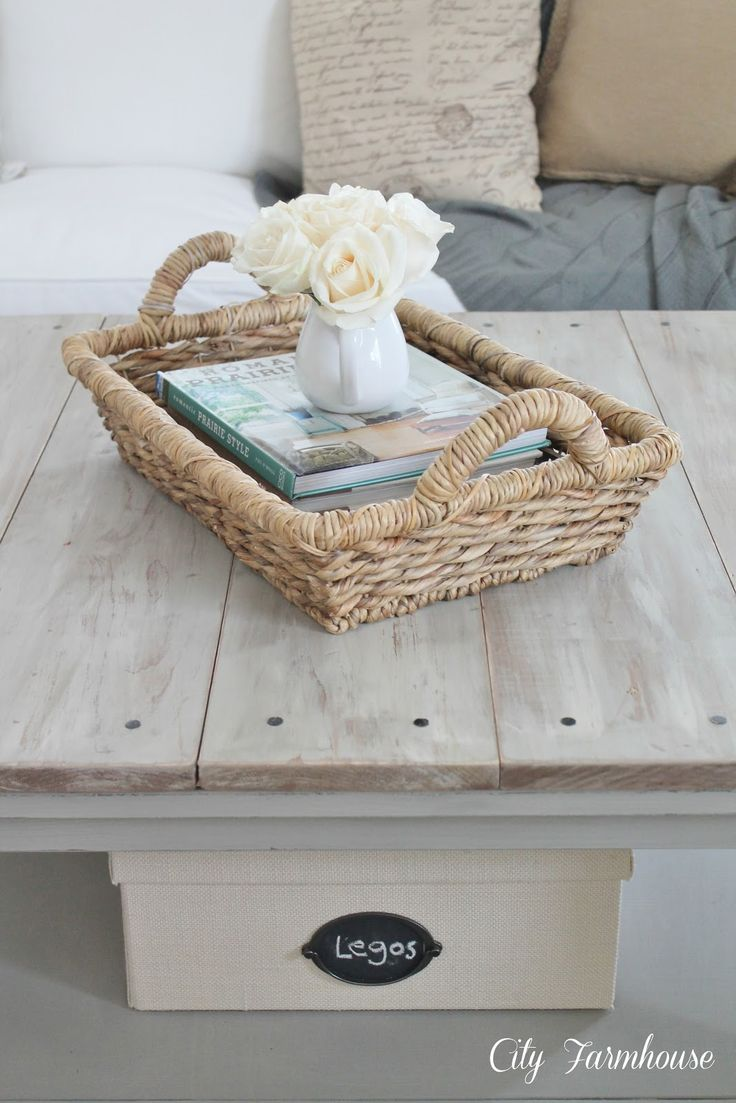 Ikea Hacked Barnboard Coffee Table Tutorial - City Farmhouse