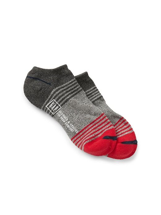 7f9af0750321f Gap Mens Colorblock Ankle Socks Modern Red | Products in 2019 | Mens ...
