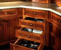 considering custom cabinets at some point how to maximize such a small space without using stupid lazy susans