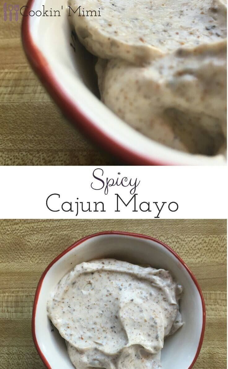 If you have two simple ingredients and five minutes you can make this Spicy Cajun Mayo that is great on your favorite burgers or sandwiches.